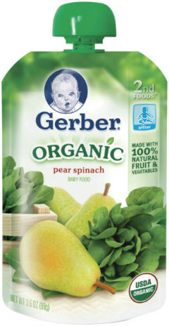 Gerber Organic Pouches