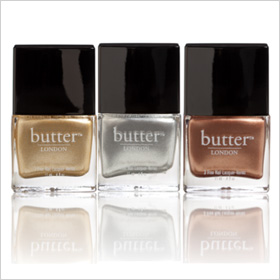 Butter London Heavy Medal Nail Polish Trio