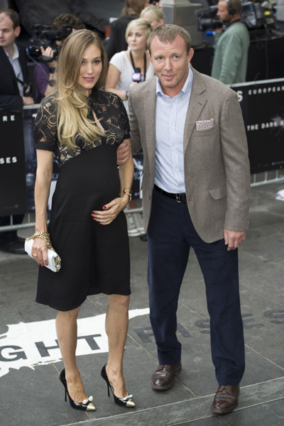 Guy Ritchie and pregnant girlfriend Jacqui