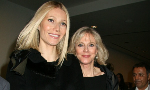 Gywenth Paltrow and Blythe Danner