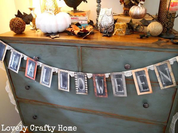 halloween bunting