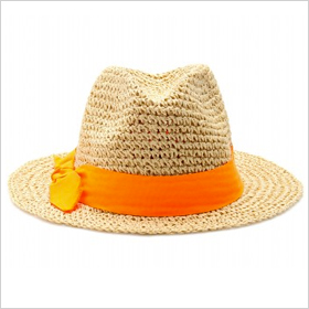 ultra-stylish straw fedora