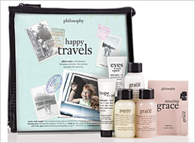 Philosophy's Happy Travels kit, $32