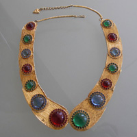 My choice: Vintage Mosell Gemstone Collar (1st Dibs, $300)