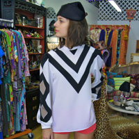 My choice: '70s Serge Nancel Paris Blouse (Vintage by Misty, $125)
