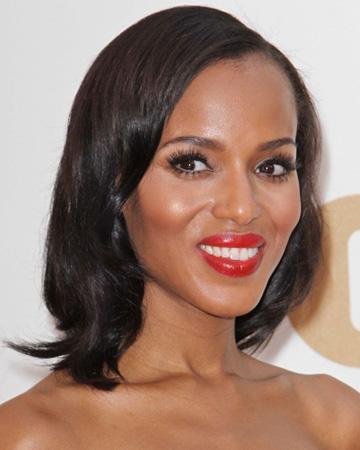 Kerry Washington's Emmy makeup
