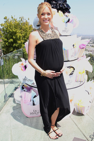 Pregnant Kristin Cavallari at baby shower