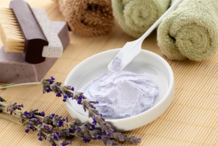 Lavender sugar scrub
