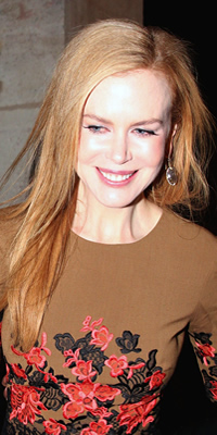 Nicole Kidman hair color
