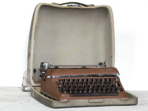 Vintage typewriter