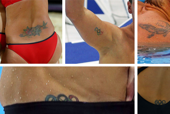 What is Misty May-Treanor's tattoo?