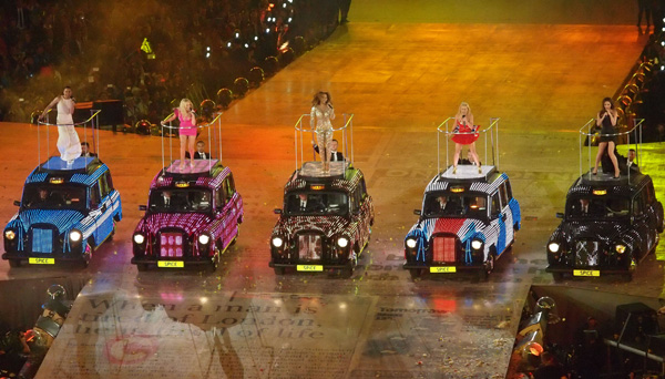 Spice Girls at the London Games