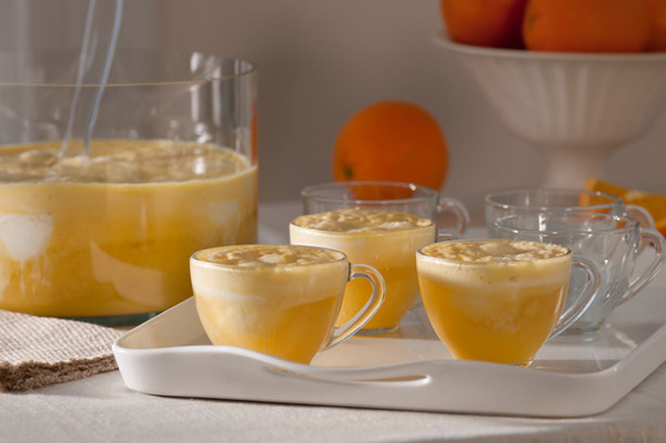 Orange Mango Creamsicle Sparkling Punch