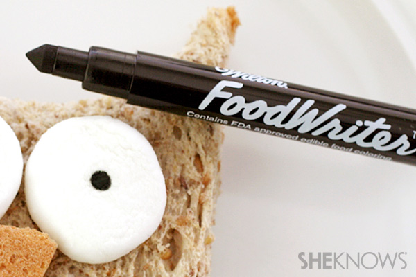 owl lunch food marker