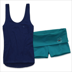 Hollister yoga shorts