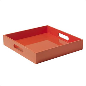 Square Lacquer Tray