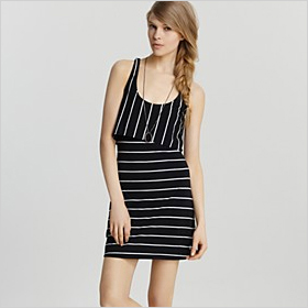 cute black and white striped option