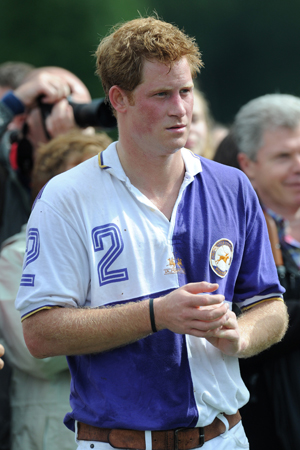Prince Harry naked video being shopped