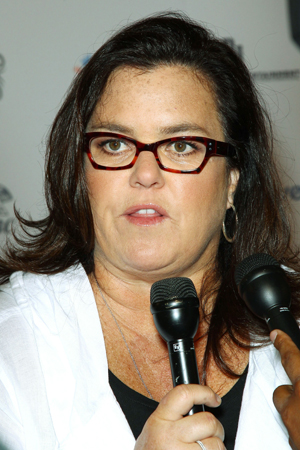 Rosie O'Donnell had a heart attack