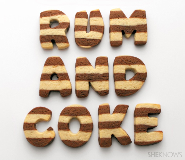 Rum and coke cookies
