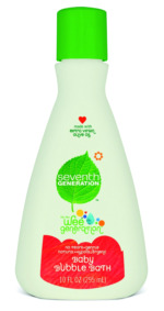 Seventh Generation bubble bath