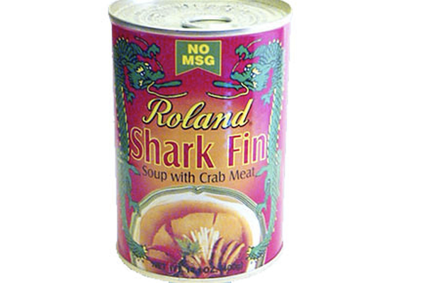 can of shark fin soup