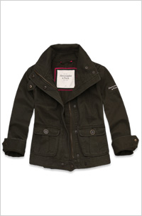 Our pick: Natalie Jacket, $98 Abercrombie and Fitch