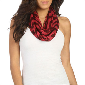 Chevron eternity scarf