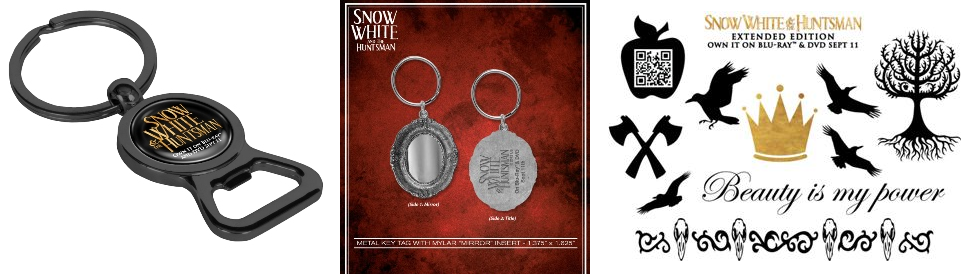 Snow White and the Huntsmen Prize Pack