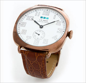 Oversized vintage watch