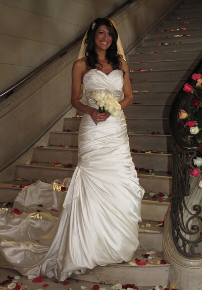 Bride Stephanie from TLCs Four Weddings