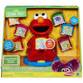 Sesame Street Elmo Find & Learn Alphabet Blocks