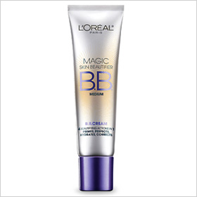 Try: L'Oreal Magic Skin Beautifier BB Cream ($10.95)
