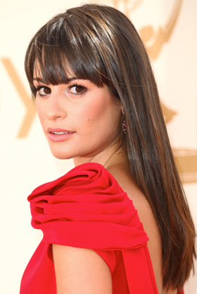 Lea Michele at 2011 Emmys
