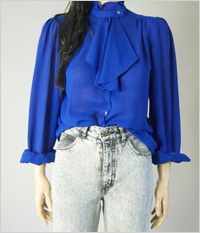 Our pick:'80s Ascot Blouse, $30, SheHeartsVintage