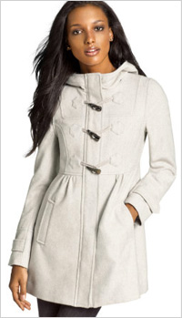 Toggle Coat, $50, H&M
