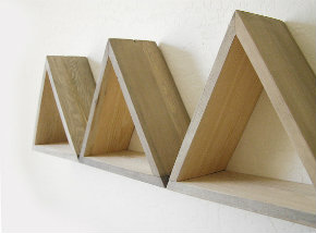 Triangle shelving