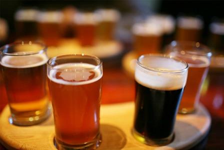 Variety of beers