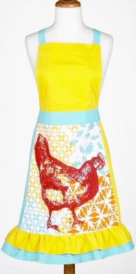 Worldmarket chicken apron
