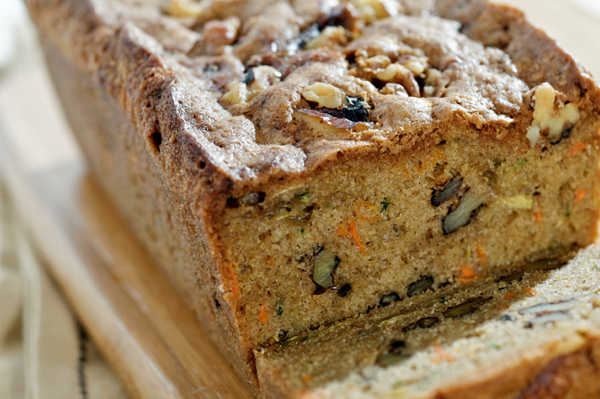 your morning with this delicious recipe for whole wheat zucchini bread ...