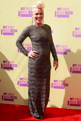 Pink at 2012 VMA