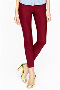 J. Crew Minnie Pant In Bi-Stretch Wool