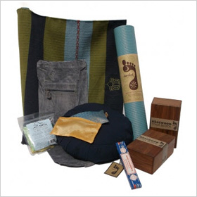 Barefoot Yoga Essentials Gift Basket
