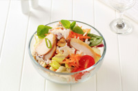 Caesar rice bowl