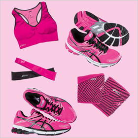 ASICS running gear