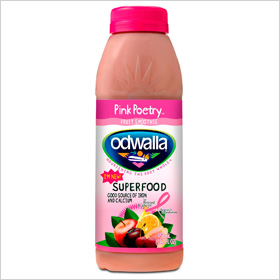 Odwalla Pink Poetry fruit smoothie 