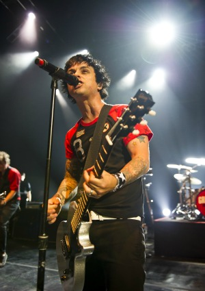 Green day 39 s billie joe on the mend after hospitalization for Joy gift and jewelry sydney ns