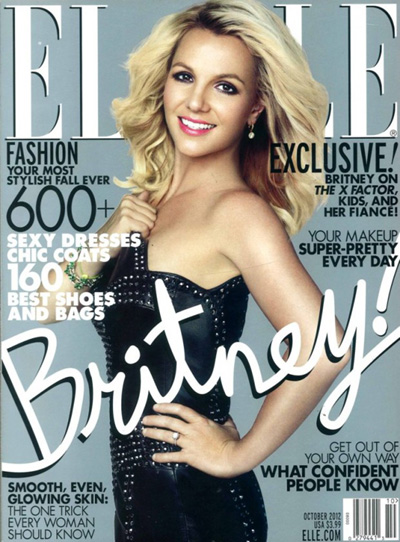 Britney Spears Elle 2012