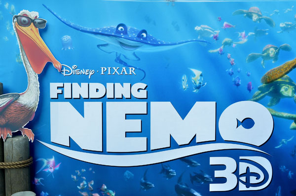 Finding Nemo is back in 3D!