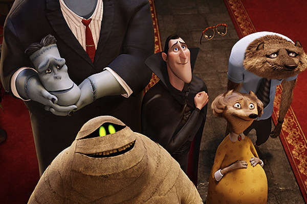 Hotel Transylvania monsters